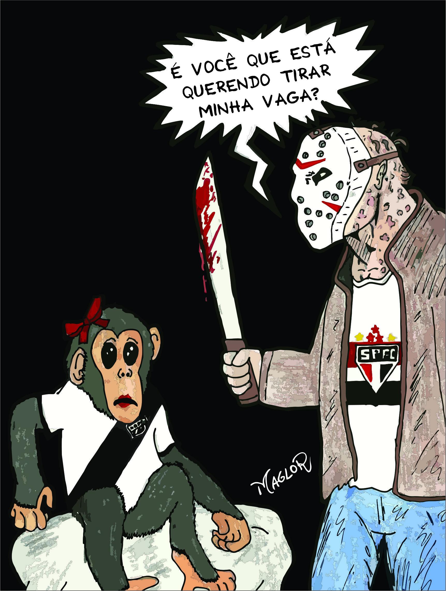 Jason não deixa barato!