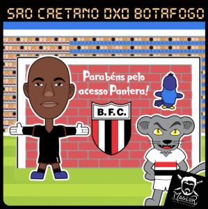 Charge 12 - São Caetano 0x0 Botafogo