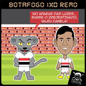 Charge - Botafogo 1x0 Remo