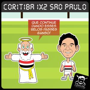 Charge - Coritiba 2x1SPFC
